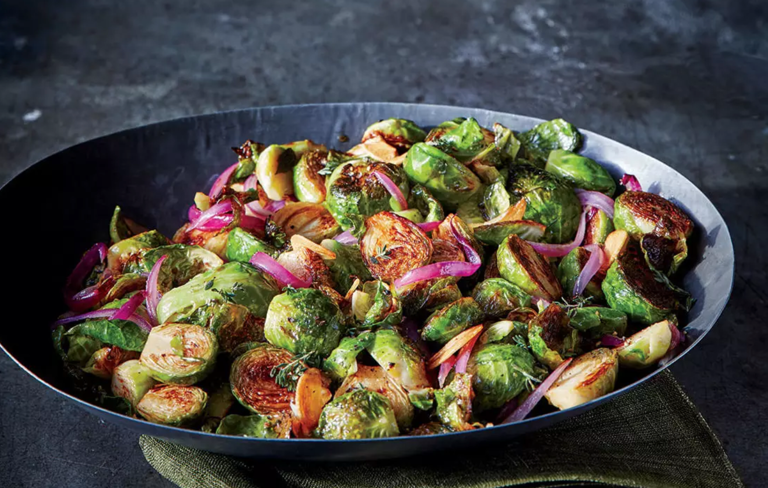 Maple-Caraway Brussels Sprouts from Cooking Light