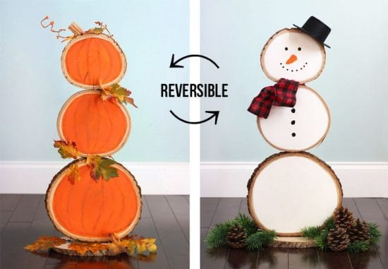 reversible home decor