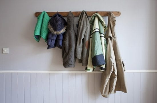 organize winter gear